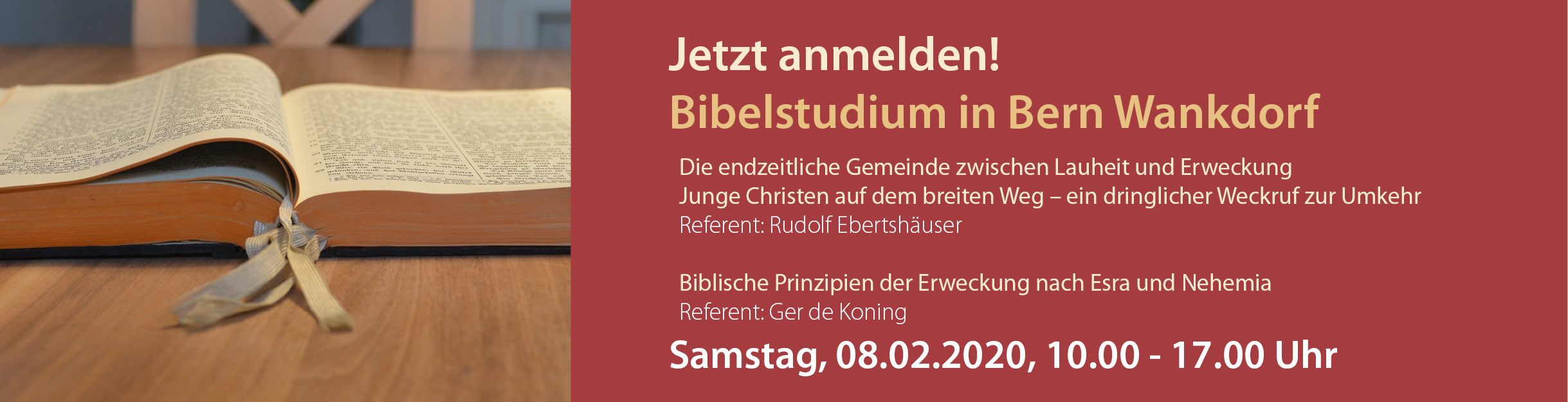 Bibeltag Bern