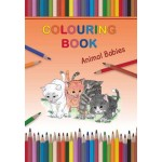 Colouring Book Animal Babies